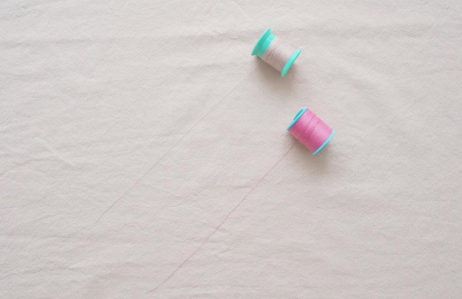 ミシン 薄い 生地 薄い生地の縫い方