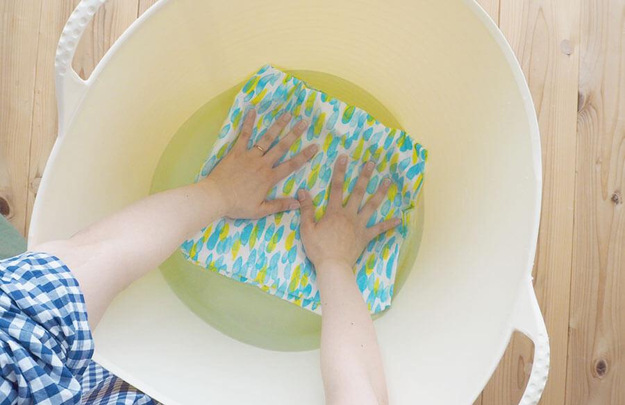 布地の水通しの仕方とポイント