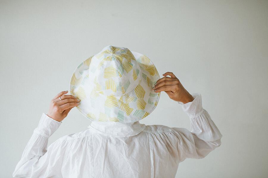 たためる帽子の製図・型紙と作り方