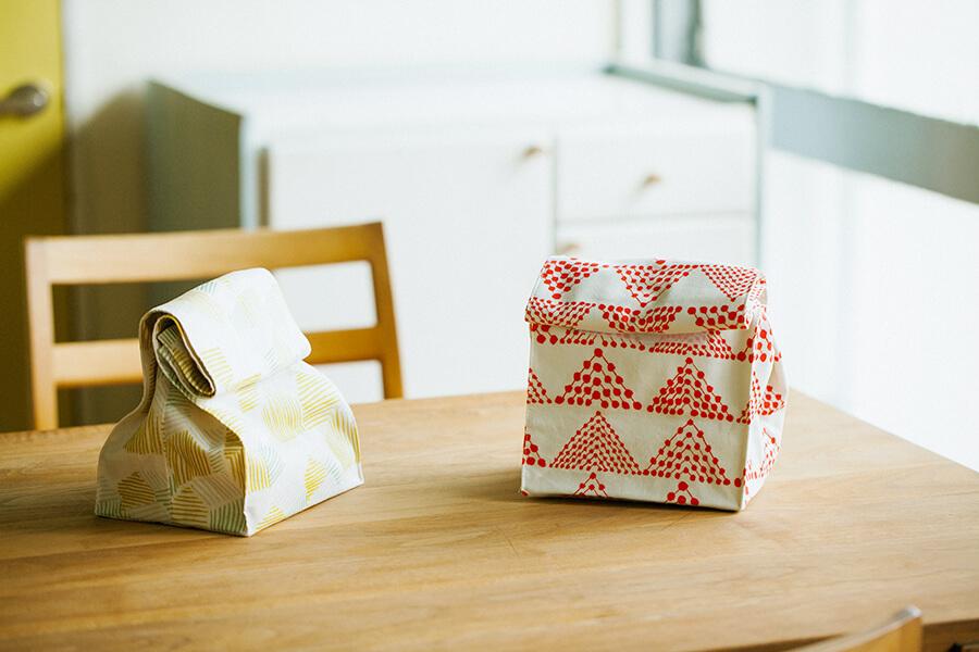 お弁当袋(ランチバッグタイプ)の作り方と製図・パターン