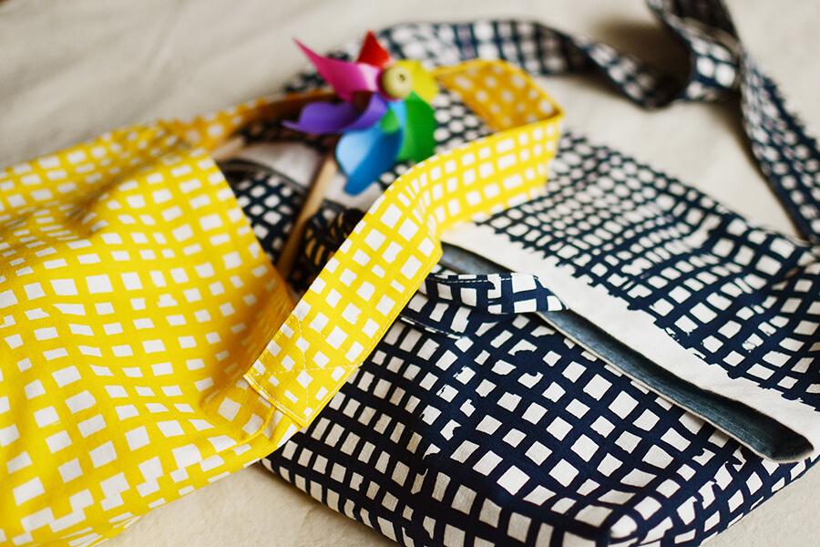 3WAY ショルダーバッグの製図・型紙と作り方