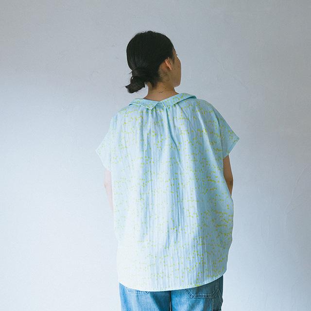 スキッパーシャツの製図・型紙と作り方