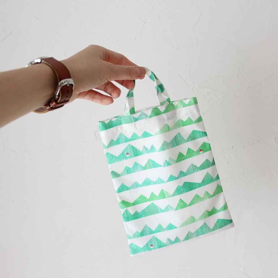 ミニ手さげバッグの製図・型紙と作り方