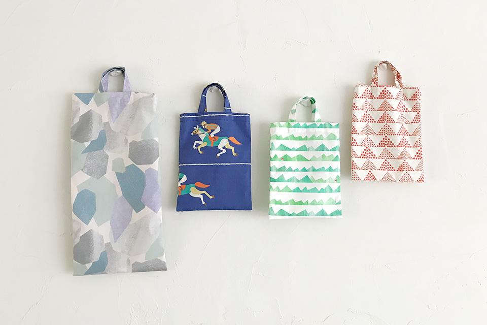 ミニ手さげバッグの作り方パターン製図