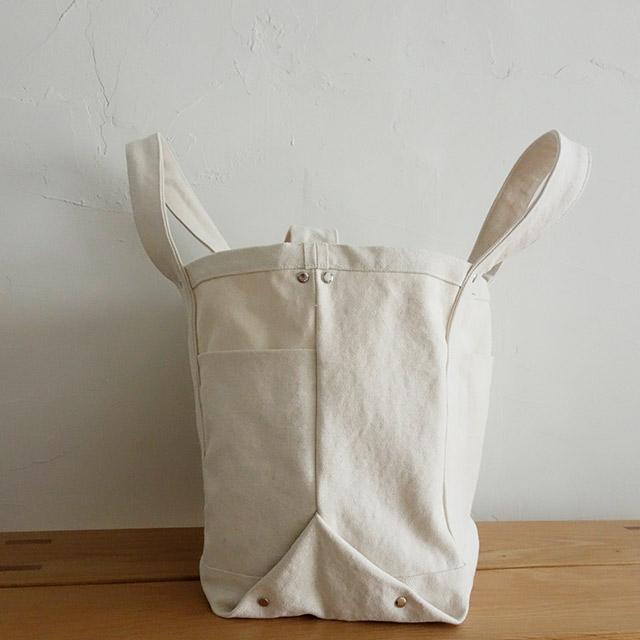 たっぷりマチのショルダートートバッグの作り方