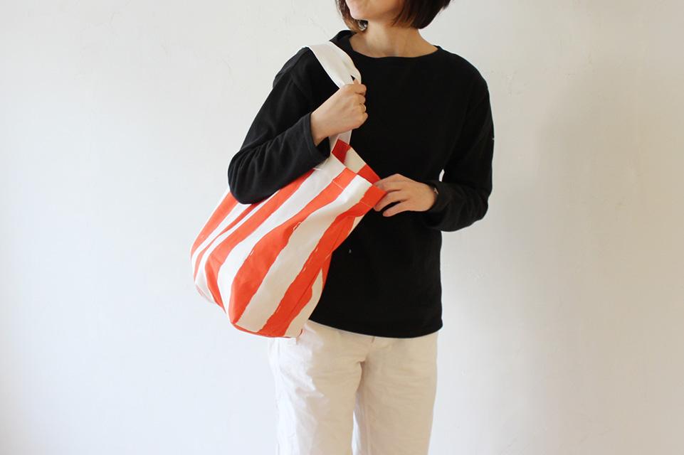 ざっくりとしたレジャーバッグ 大きめトートバッグの作り方