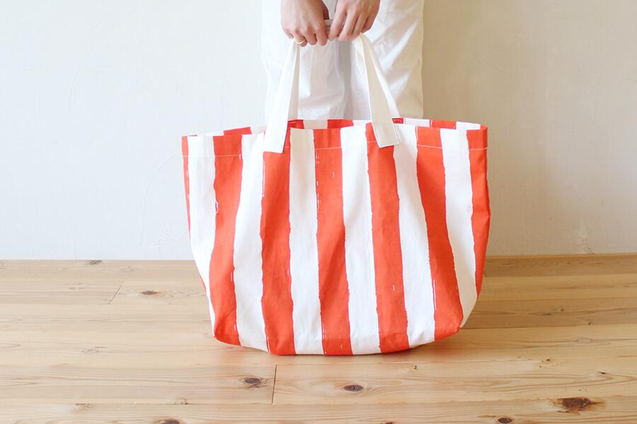 海にも!ピクニックにも!買い物にも!レジャーバッグの作り方