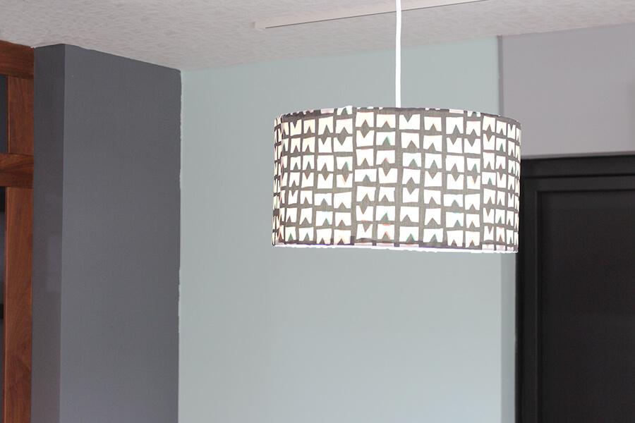 布製ランプシェードの作り方
