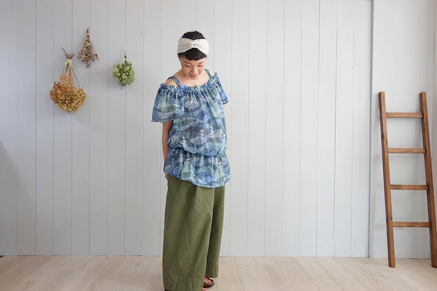 大人可愛く着れる♪フリル袖チュニックの作り方