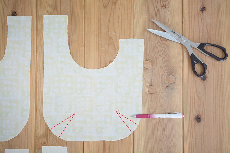 しじみバッグ 作り方 型紙 製図