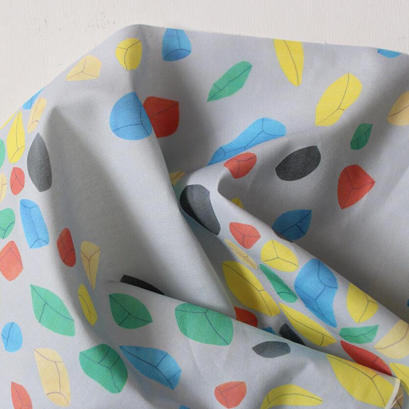 nunocoto fabric: colorstones(グレー)
