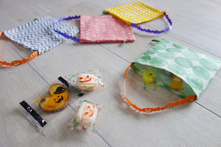 【手作りハロウィングッズ】キャンディバッグの作り方