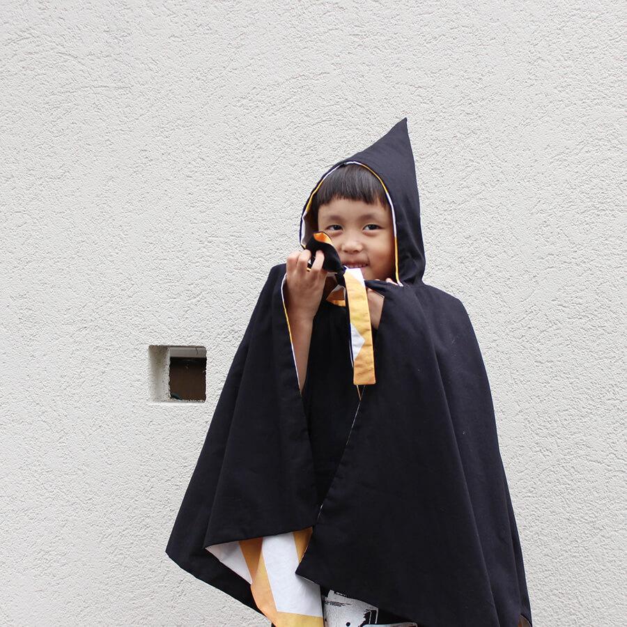 ハロウィン衣装コスチューム子ども用魔女マント