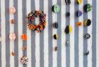 【手作りハロウィングッズ】ハロウィンカラーの布で作るインテリアグッズ2種
