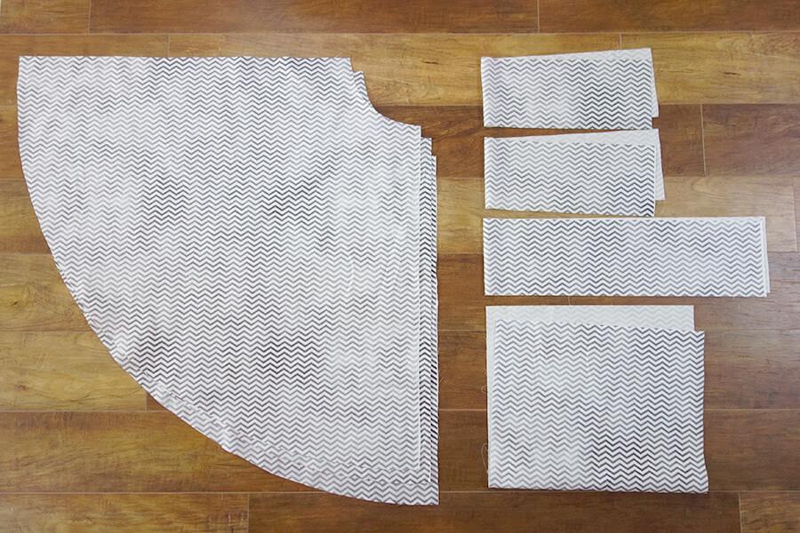 サーキュラー 巻き スカート 作り方