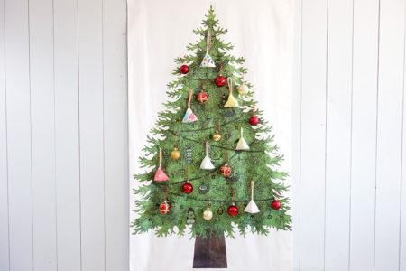 アドベントカレンダーにもなる♪ハギレ布で作るテトラ型のクリスマスオーナメントの作り方
