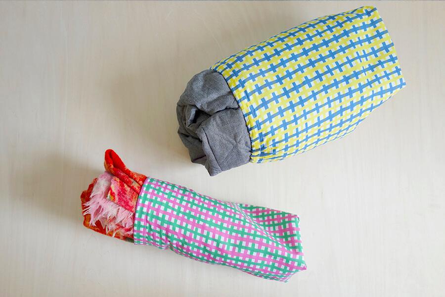 スタッフバッグ 底 巾着 作り方