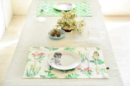 食卓を彩る♪ランチョンマット3種の作り方