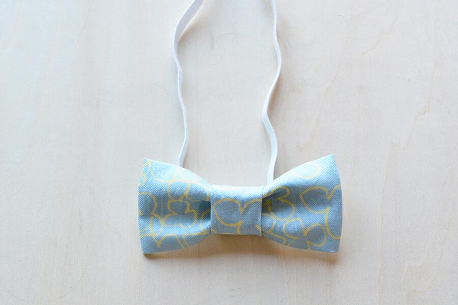 蝶ネクタイ 作り方