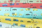 今日の、布コンビ愛。入園入学グッズ作りに大人気の『カーズ』に合う布