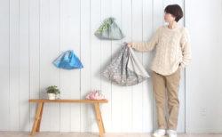 あづま袋の作り方3サイズ(布切り替えあり)