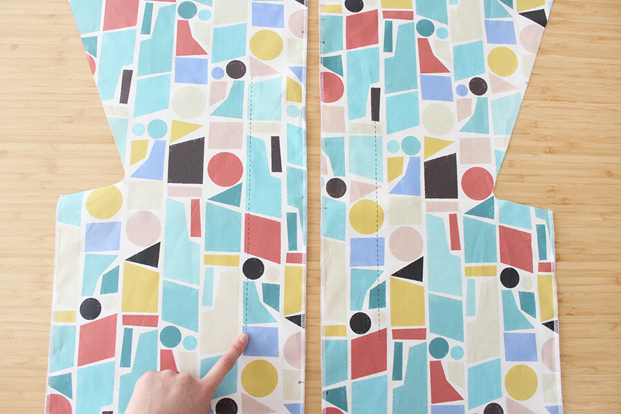 パターンファブリック:こども甚平(nunocoto fabric)