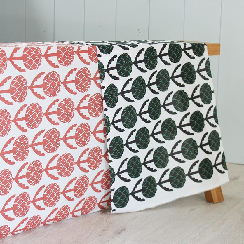 nunocoto fabric:アーティチョーク(ブラック)