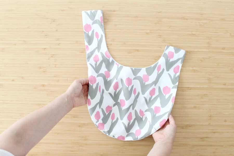 パターンファブリック:しじみバッグ(nunocoto fabric)