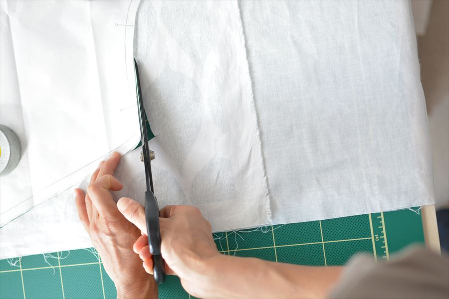 布の裁断方法