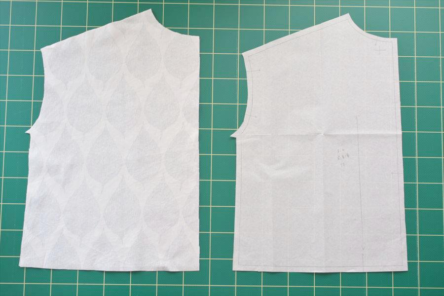 布の裁ち方とコツ(裁断方法)