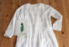 『TOWNのパターンアレンジでつくる大人服』のギャザーコートを作ってみました