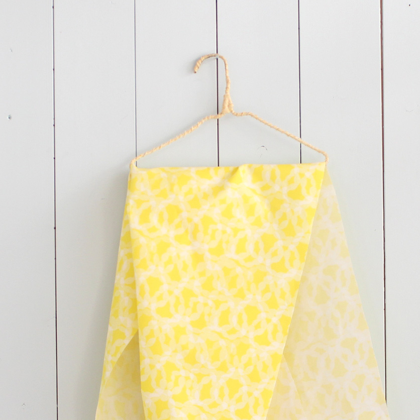 nunocoto fabric:hoop(イエロー)