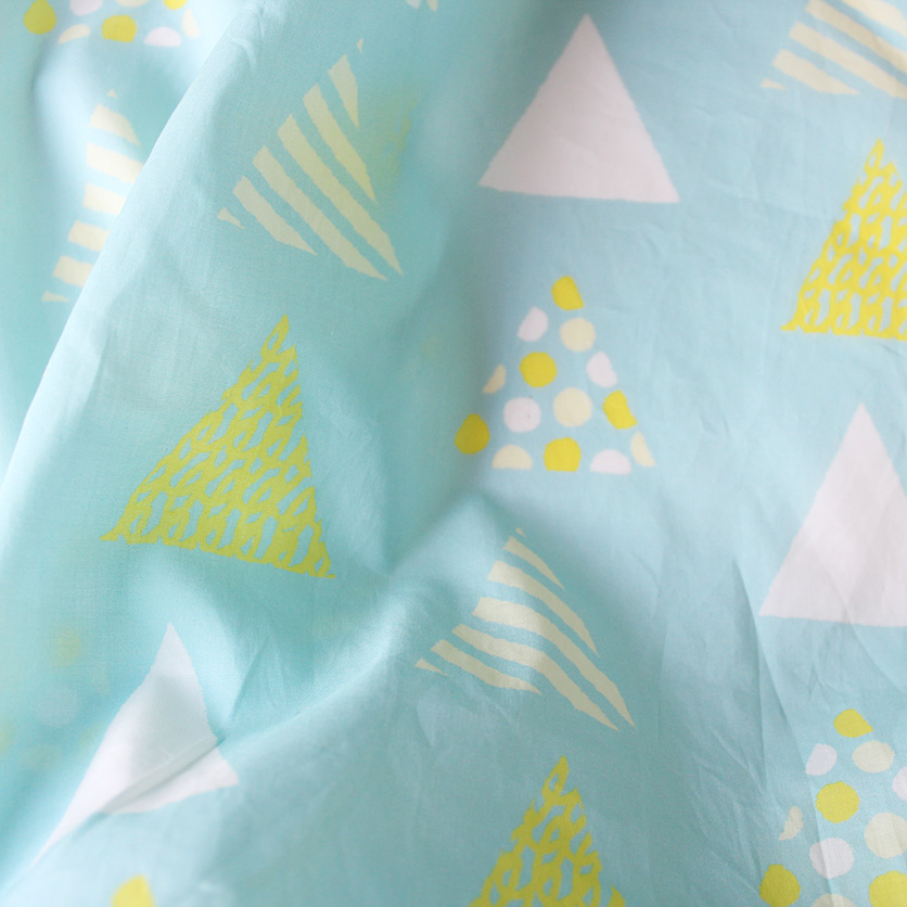 nunocoto fabric:TENT(ブルー)