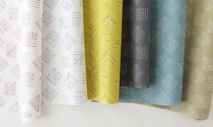 nunocoto fabric:kareha全カラー