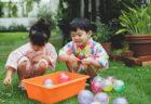 パターンファブリックのこども甚平でおうちde夏祭り!
