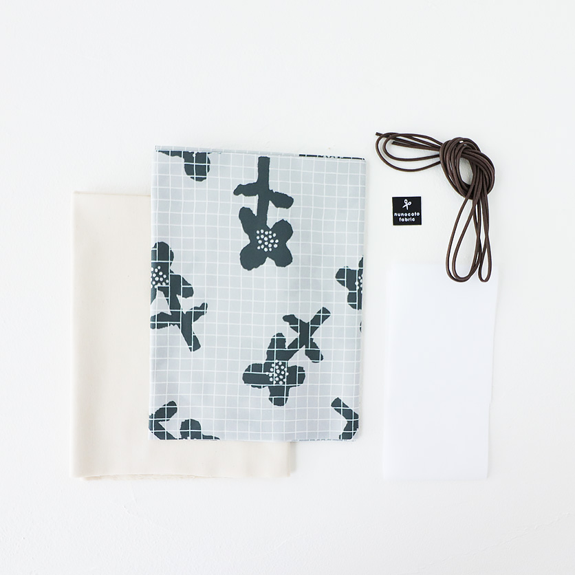 柄が選べるキット:巾着トートバッグ