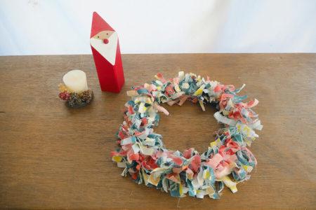 クリスマスやハロウィンに!はぎれ布で作るファブリックリース
