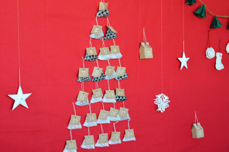 アドベントカレンダーにもなる!テトラ型クリスマスオーナメントの作り方
