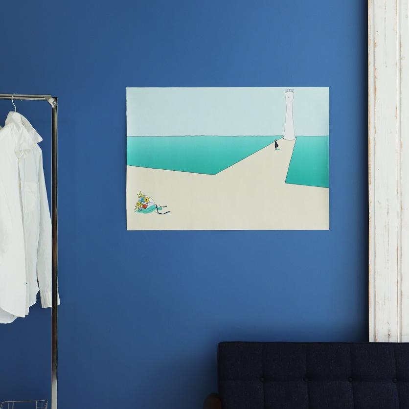 ファブリックポスターカシワイ灯台