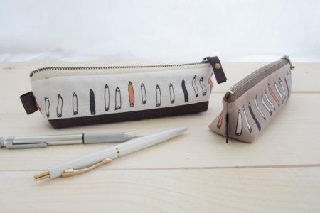 【型紙不要】底マチつきペンケースの作り方 3種