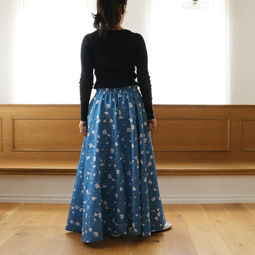 ホームソーイング型紙シリーズ「フレアマキシスカート」