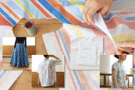 プロが作る洋裁型紙、【ホームソーイング型紙シリーズ】始まりました