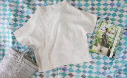 『感じのいい、大人服』(美濃羽まゆみ著/日本ヴォーグ社)からハイネックブラウスを作ってみました!
