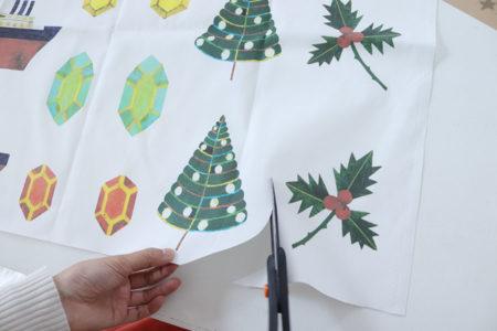 クリスマスオーナメントキット基本の作り方
